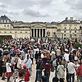 31 juillet 2021: C'est mon dreit et j'y ti! Nouvelles manifestations contre le passe sanitaire en <b>Normandie</b>.
