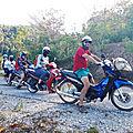 Thakhek et sa belle gang de motards (Laos)
