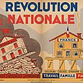 Vichy, « révolution nationale »