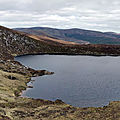 Randonnée au Lough Ouler, Wicklow Mountains