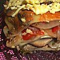 Lasagne végétalienne