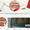 Création d'un blog-boutique