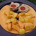 Filet mignon de porc au chorizo sauce poivrons