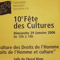 Fête des Cultures 2006