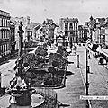 Verviers, la place Verte, 18 août 1907