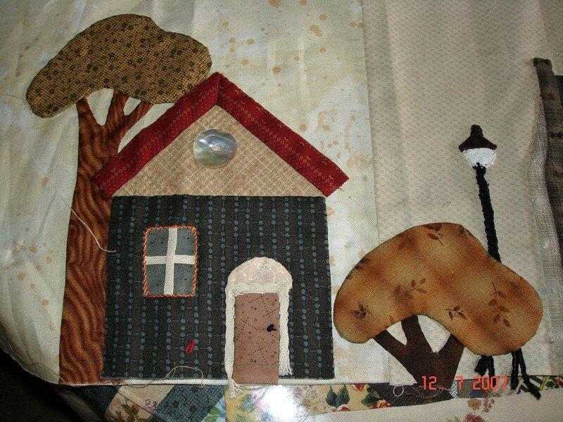 une maison du village de Yoko Saïto