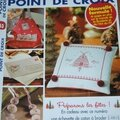 Magazine <b>Mains</b> et <b>Merveilles</b> Point de Croix