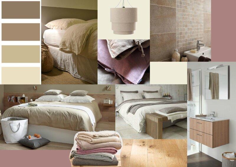 Projet client: ambiance naturelle pour une chambre d\'amis - Sonia ...