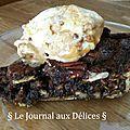 Pecan pie (tarte aux pacanes)