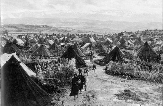 Camp de Réfugiés - 1948