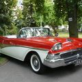 FORD Fairlane 500 Skyliner retractable convertible 1958 Mulhouse (1)