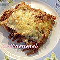 Lasagnes allégées aux courgettes