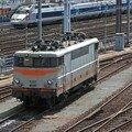 BB 9257 et un TGV A à Montparnasse