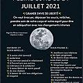 ✨<b>PLEINE</b> <b>LUNE</b> DU 24 JUILLET 2021 ✨ connu aussi sous le nom de la <b>Pleine</b> <b>Lune</b> du Tonnerre - de En <b>Pleine</b> Conscience
