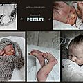 Presley asleep prototype 1/4 - first realborn baby on ebay now! (vendu/sold)