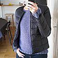 Huhuuuuu : retour sur la blogosphère et mon 2ème pull !
