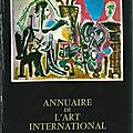 Annuaire de l'art international 1968-69