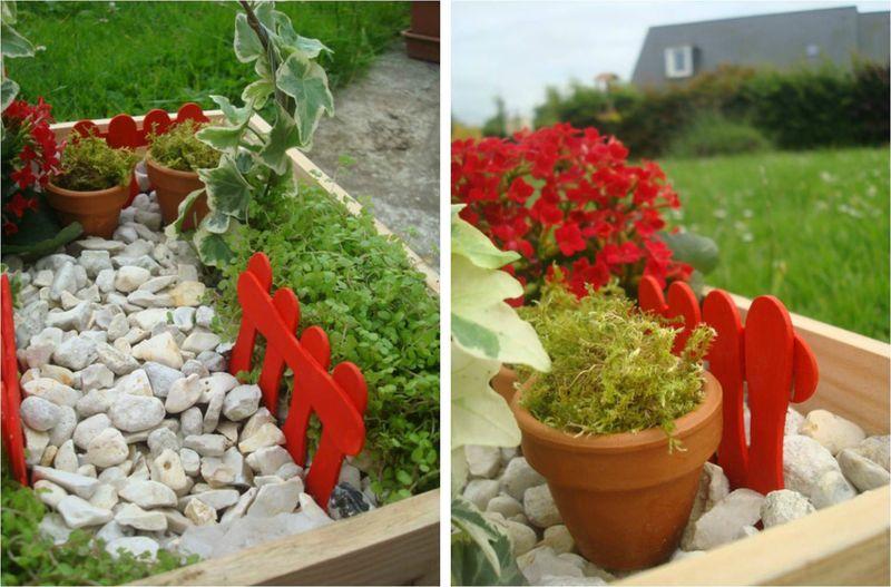 Faire un jardin miniature l a et compagnie - Faire un jardin zen miniature ...