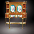 Sotheby's to auction very rare secrétaire with sevres porcelain plaques stamped a. weisweiler