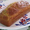Cake bacon et olives vertes