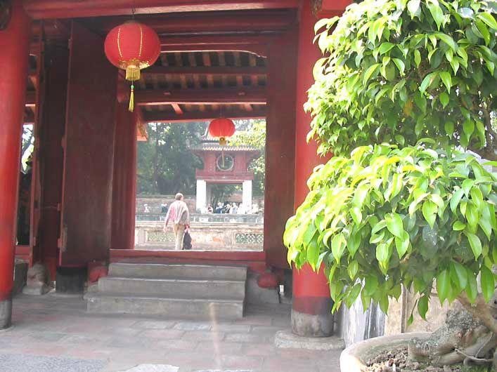 HANOI - pagode de la littérature