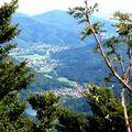 Vue sur la vallée de la Doller