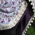 pointe tissu et crochet