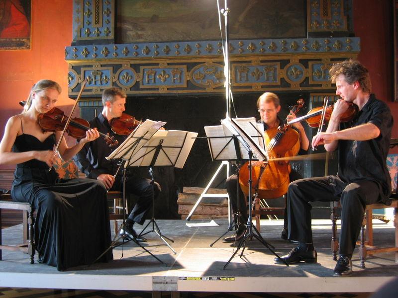 Concert Quatuor Castagneri