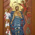 Baptême du Christ (modèle copte)