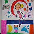 Les plus beaux dessins d'Adélaïde (6 ans)