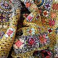 plaids et couvertures crochet