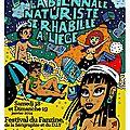 En janvier, la biennale Naturiste du <b>Fanzine</b> se rhabille à Liège !
