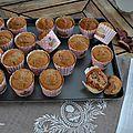 Muffins à la crème de marron