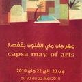 capsa may arts du 20 au 22 Mai2010