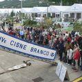 Nous sommes à bord du Cisne Branco - voilier brésilien