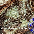 Mouskoutchou marbré ou au citron ( au thermomix )