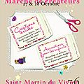 Invitation : marché de créateurs 27/28 octobre 2012 à st-martin du vivier !