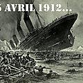 TITANIC: 15 avril