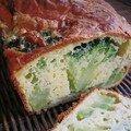 cake joli au brocolis