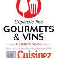 DES PLACES A GAGNER POUR LE SALON <b>GOURMETS</b> ET VINS / CUISINEZ !!!