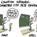 education natioanle ecole nouveau programme humour