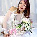 Mariage romantique rose poudré by Douce Fantaisie