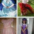 Robes et jupes de princesse...