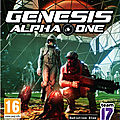 Genesis Alpha One (PC / Playstation 4 / Xbox One)