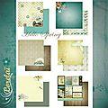 Nouvelle collection de papiers hello spring de lorelaï design