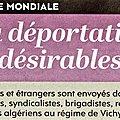 La déportation des