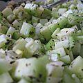 Salade concombre menthe (serkeh khiar)
