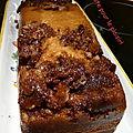 Cake aux chocolats célébrations® merci fafa ;o)