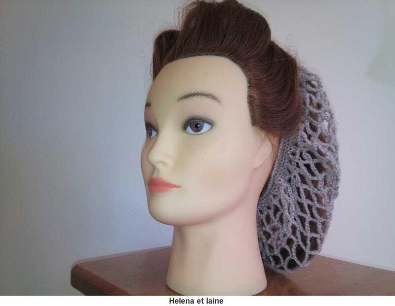 Snood hair gris3