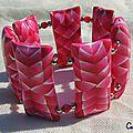 Bracelet coussins...